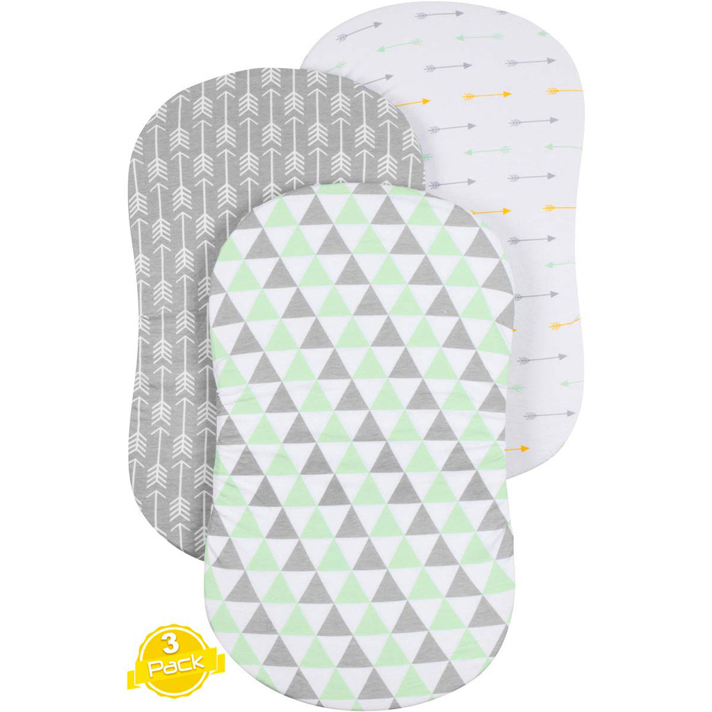 3PC Soft Baby Bassinet Set Cradle Fitted Sheets For Mattress Pads Sleeper Cover 2019 Summer Hot Selling