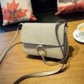 Hot Sale Famous Brands Designer High Quality Women Purses And Handbag Hoop With Chain Nubuck Leather Shoulder Messenger Bags