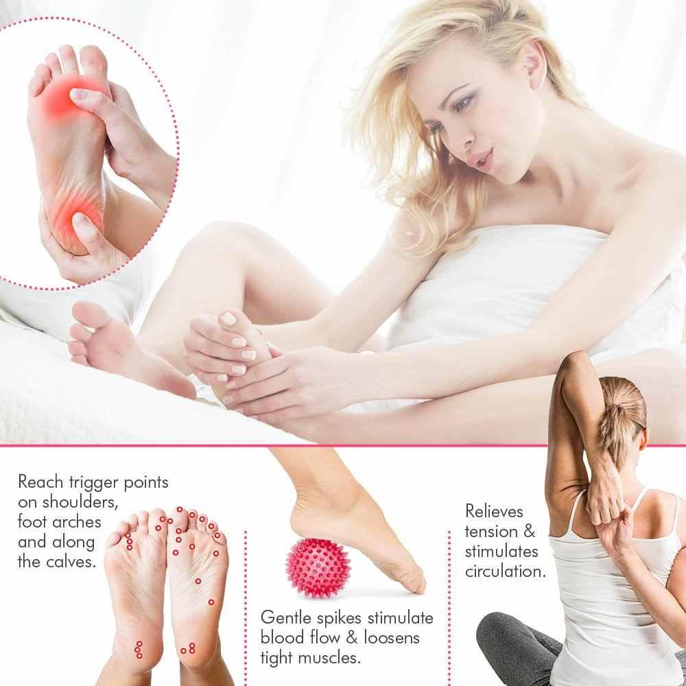 Dropship Massage Bal Spiky Trigger Punt Relief Spierpijn Stress Pinda Bal Therapie Gezondheidszorg Gym Spier Relex Apparatus