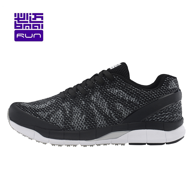 BMAI Brand Marathon Running Shoes for Men 2017 Light Men's Sports Cushioning Sneakers Breathable Mesh Outdoor Male Athletic Shoe apple summer new arrival men s light mesh sports running shoes breathable fly knit leisure comfortable slip on sneakers ap9001