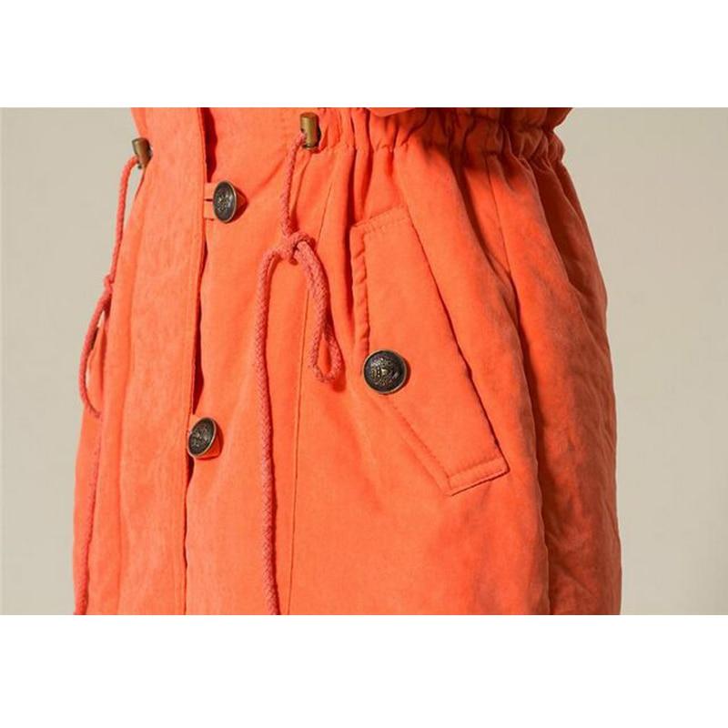 Vente Chaude Taille Feminina bleu Plus 4xl Green Agneau 2018 Manteau Solide Casaco Veste army orange Femmes D'hiver Laine La De Nouvelle Noir Femme Mode rrdpq