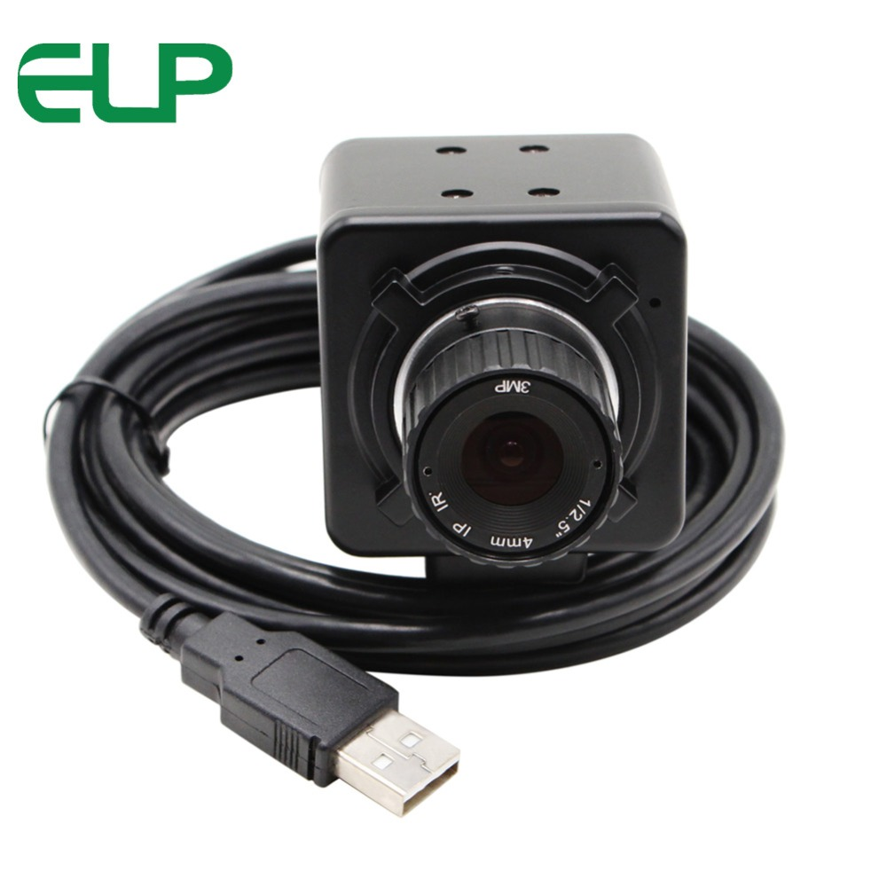 ELP 1 Megapixel 4mm Manual foucs lens Mini Video Camera CCTV Android 720P Usb HD Webcam Camera inspection with CMOS OV9712 Board цена
