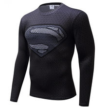 805b61f2 Free shipping 2018 t-shirt Superman/Batman/spider man/captain America /Hulk/Iron  Man / t shirt men fitness shirts men t shirts