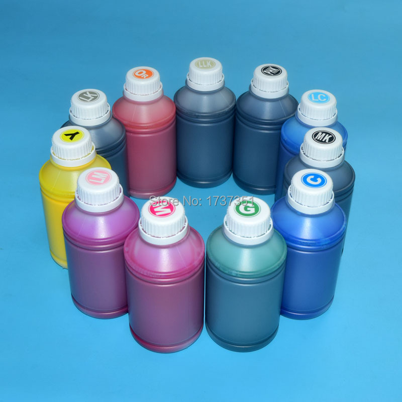 11 color 1000ml pigment ink For Epson Stylus Pro 4900 refill ink cartridge with ARC chip T6531-T6539 T653A T653B