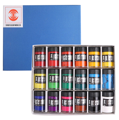 Japanese Turner Design Gouache Poster Pigment 12 /18 Colors Advertising Paint 40ml Coating Strength opaque/matte water colors british import 24 colors gouache paint painter special 24 colors water gouache pigment set advertising pigment