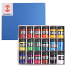 Japanese Turner Design Gouache Poster Pigment 12 /18 Colors Advertising Paint 40ml Coating Strength opaque/matte water colors