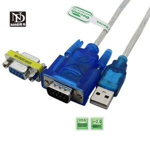 Image 4 - USB Để RS 232 DB9 9 Pin Cáp Nối Tiếp Với Adapter Hỗ Trợ 2M Windows 8 Không CD