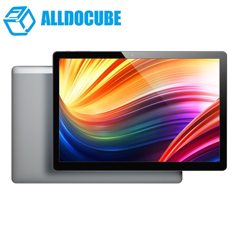 Alldocube Мощность M3 4G телефона Tablet PC 8000 мАч Quick Charge 10,1 дюймов 1920*1200 ips Планшеты Android 7,0 mt6753 восемь ядер 2 ГБ/32 ГБ
