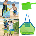 Mesh Diapers Bag For Children Travel Organizer Mother Bag  Baby Travel Changing Bag Children Beach Collection Toys