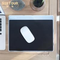 SirTour aluminium alloy Resin Gaming Hard Metal Material Personalized Durable Mouse Pad Mat Comfort Mice Pads