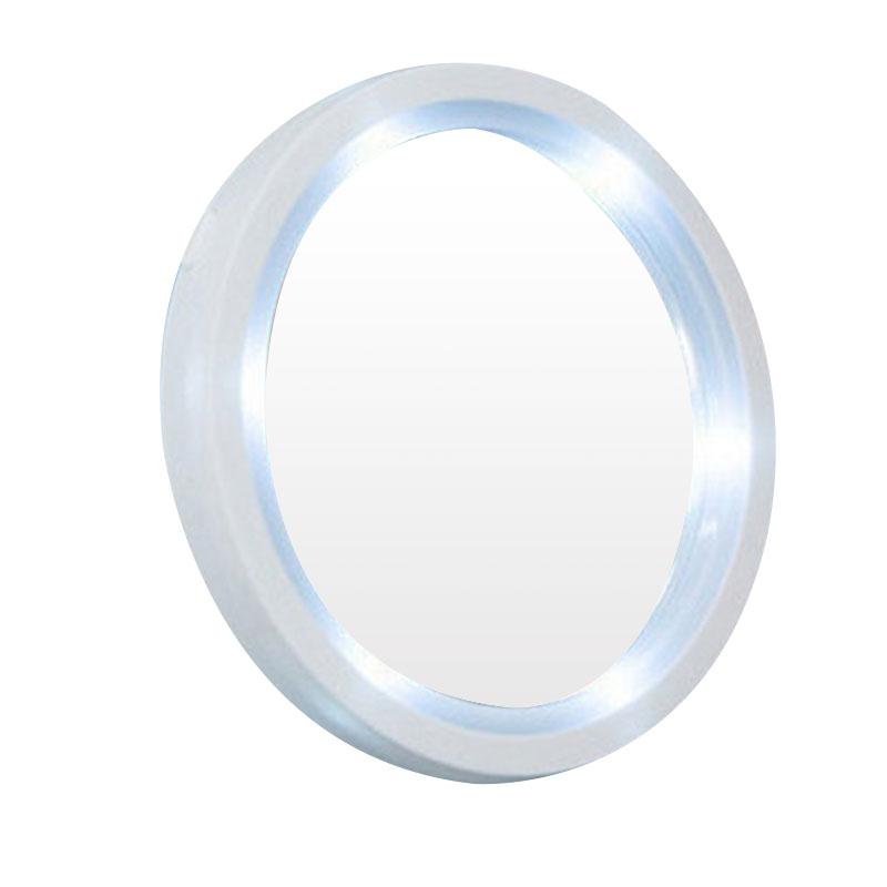 8x magnifying mirror led lighted lamp makeup mirror vanity round comestic compact mirror giftchina