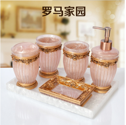 free-shipping-6-pieces-set-best-resin-material-american-slap-up-fancy- bathrooms-accessories-european-luxurious