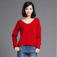 New Hot High quality Angora Cashmere Sweater Fashion Slim Low Round neck Knit Pullover Genuine Factory Direct Free Shipping