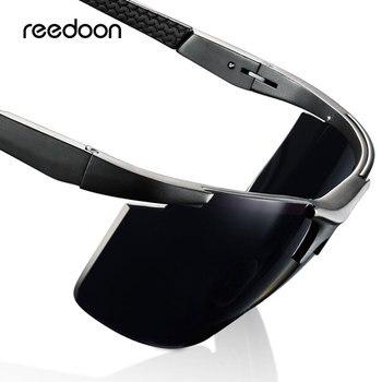 Reedon поляризованные солнцезащитные очки HD объектив UV400 металлическая оправа мужские солнцезащитные очки фирменные очки для вождения очки д... >> REEDOON Official Store