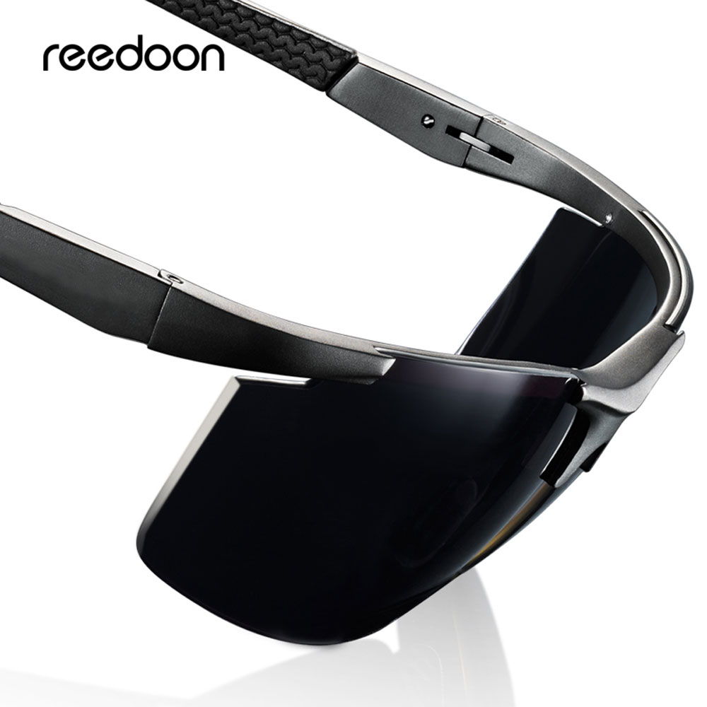 Reedoon Polarized Sunglasses HD Lens UV400 Metal Frame Sun Glasses Brand Designer For Men Women Driving Fishing Sport 8282
