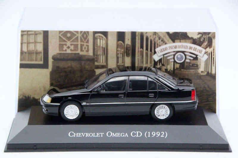 IXO Altaya 1:43 Modelos Diecast Escala Chevrolet Omega CD 1992 Brinquedos Do Carro Coleção de Edição Limitada de Metal Auto