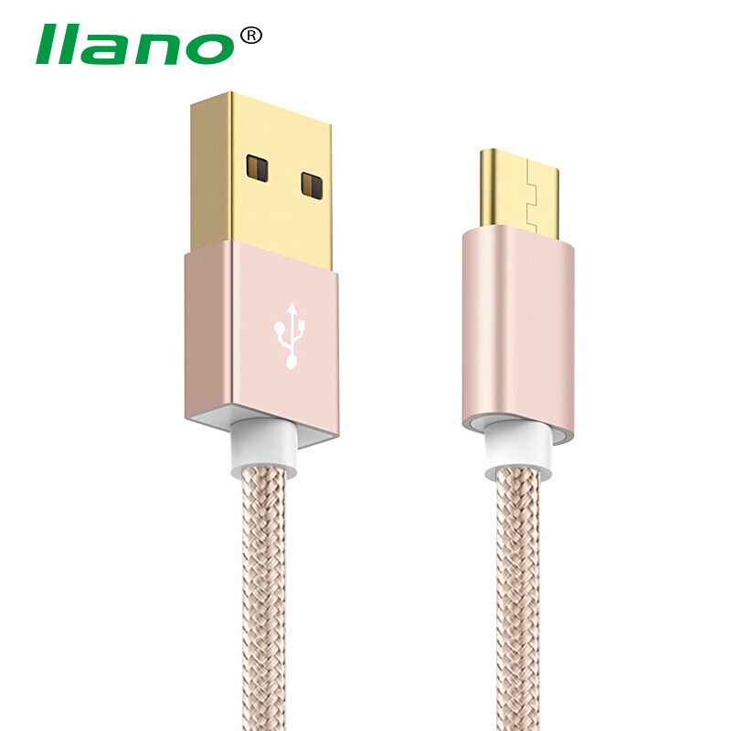 llano Type C Data Cable 2.4A Fast USB-C Charging Cable for Huawei Samsung Xiaomi Letv HTC