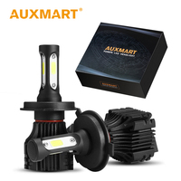 Auxmart Auto Koplamp H7 H4 Led-lampen H11 H3 H1 9006/HB4 9005/HB3 9007 LED Koplamp kit 72 W 8000lm Combo LED 12 V 24 V Licht lamp