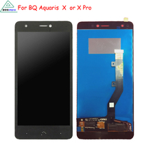 hot deal buy original for bq aquaris x  lcd display touch screen digitizer mobile phone parts for bq aquaris x pro screen lcd free tools