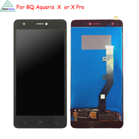 Original For BQ Aquaris X LCD Display Touch Screen Digitizer Mobile Phone Parts For BQ Aquaris