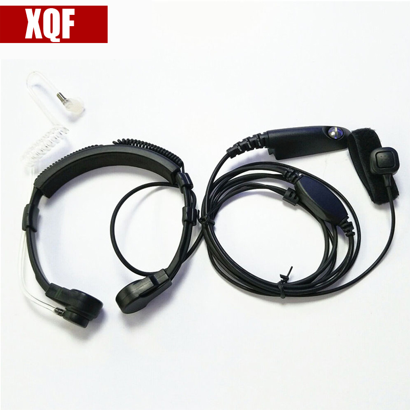 XQF Adjustable Throat Mic Finger PTT Earpiece for Motorola for GP328 GP338 GP340 GP380 Two Way Radio Walkie Talkie WholesaleXQF Adjustable Throat Mic Finger PTT Earpiece for Motorola for GP328 GP338 GP340 GP380 Two Way Radio Walkie Talkie Wholesale