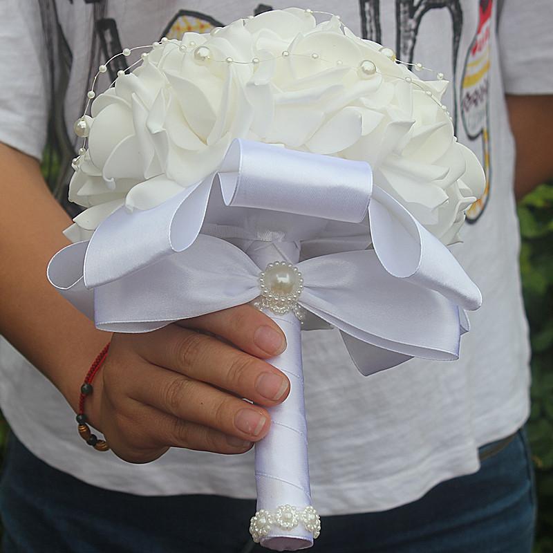 Foam Bridal Bouquet 25
