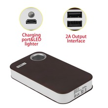 Power Bank 15000mAh USB External Backup Battery Charger 5*18650 Battery Power Bank Case For Phones