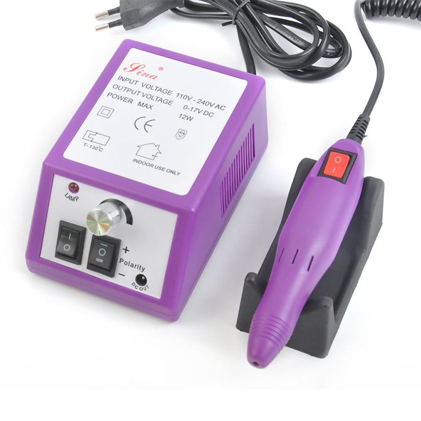 US EU UK Plug Nail Drill Manicure Machine 20000 RPM Electric Nail Drill Pedicure Nail File