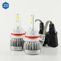 2 6000K Super Bright White H8 H9 LED Bulb H11 H4 5202 Headlights H7 9005 HB3