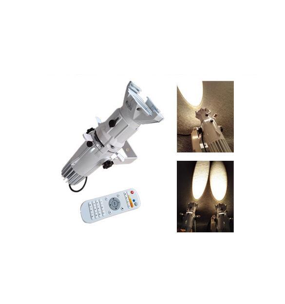 Rasha New Arrival 26-50 Degree 2in1 WW/CW 20W Mini Profile Spot Light Leko TV Studio Light Ellipsoidal Light With Remote Control hot 19 26 36 50 degree lens for led ellipsoidal gobo projector light 150w led color profile spot light leko lens
