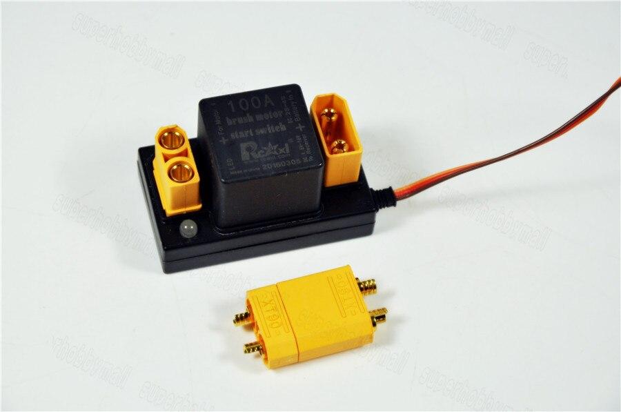 080f236cb5d ⑤Rcexl interruptor do relé 100A escova do motor start eletrônico v1 ...