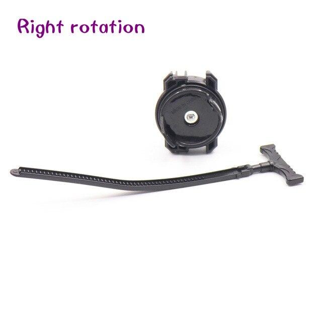 12 видов стилей металлическое средство для запуска Beyblade Burst игрушки Арена распродажа трещит гироскоп хобби классический спиннинг - Цвет: Black Small
