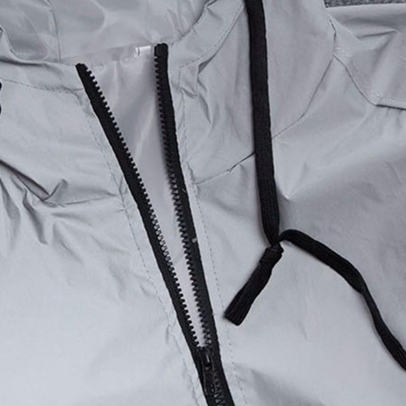 8da38a3e1 Men Jacket Spring Autumn Patchwork Reflective 3m Jacket movement Hip Hop  Waterproof Windbreaker Men Coat Brand Fluorescence-in Jackets from Men's  Clothing ...
