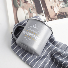 WAF Outdoor Adventure Camp Mug Wandering For The Outdoor Mountain Travel Cup Personalized Enamel Mug Best Gift For Friend рубашка best mountain best mountain be534emfnx04