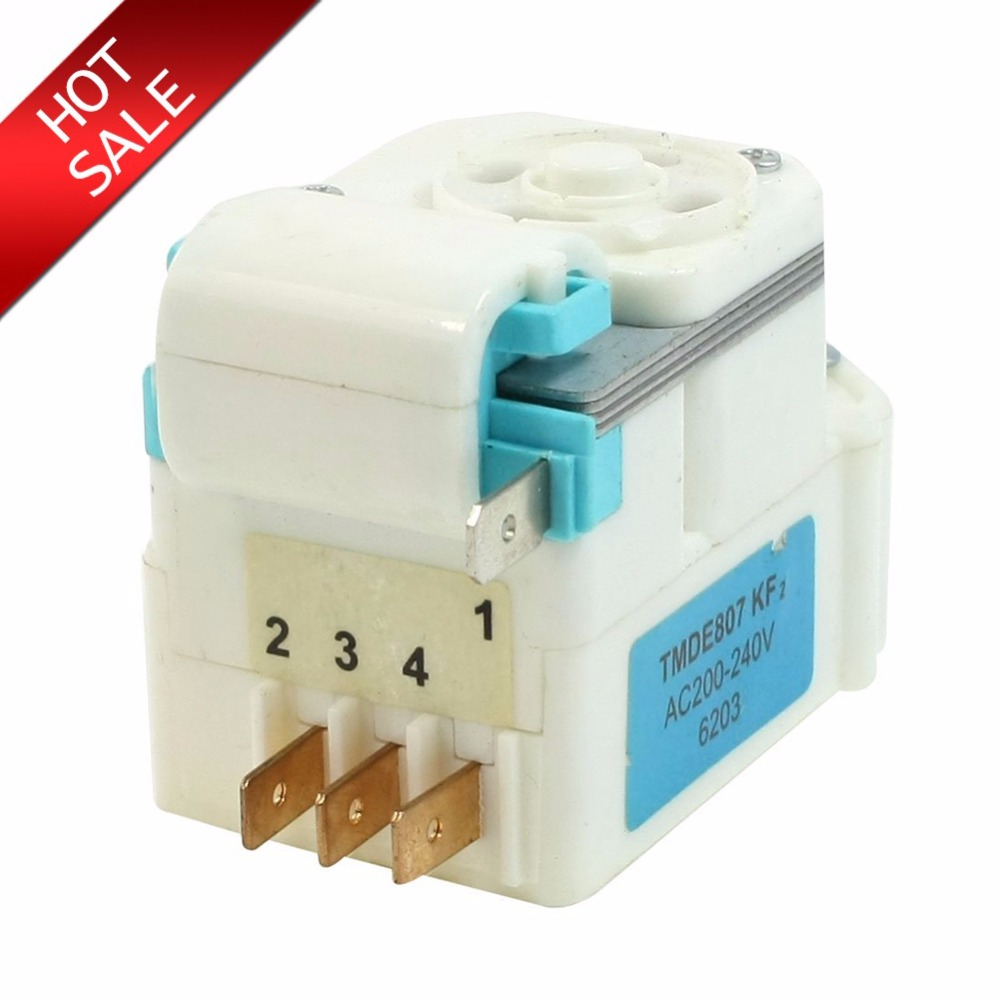 High quality Brand new AC 220V-240V 4 Pins Refrigerator accessories parts Fridge Defrost Timer DSQ-1A defrost timer tmdex09um1