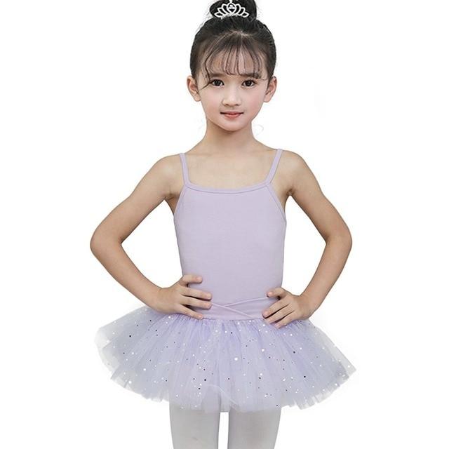 Платье для танцев с блестками и звездами; красивое гимнастическое трико; платье-пачка для девочек; балерина; сказочный костюм для выпускного вечера