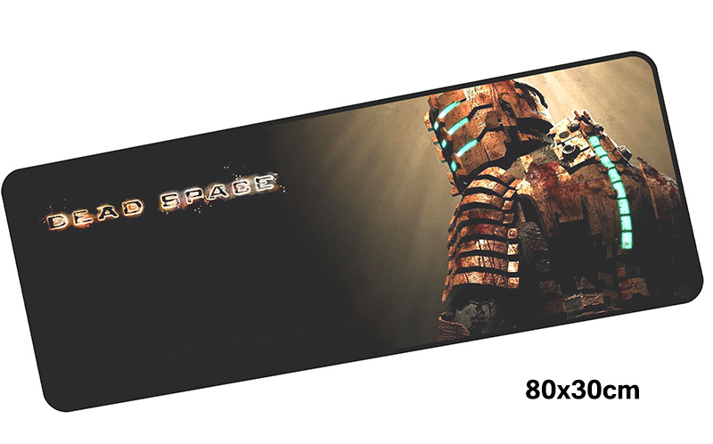 dead space mousepad gamer 800x300X3MM gaming mouse pad large gadget notebook pc accessories laptop padmouse ergonomic mat