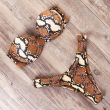 MOOSKINI New Sexy Leopard Print Bikini Mujer 2019 Swimwear Women Swimsuit Bathing Suit Push Up Brazilian Biquini Maillot De Bain