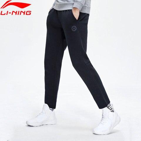 Série Li-homens Ning Wade Suar Calças 66% Algodão 34% Poliéster Regular Fit Cordão Forro Esportivas Aklp131 Mky447