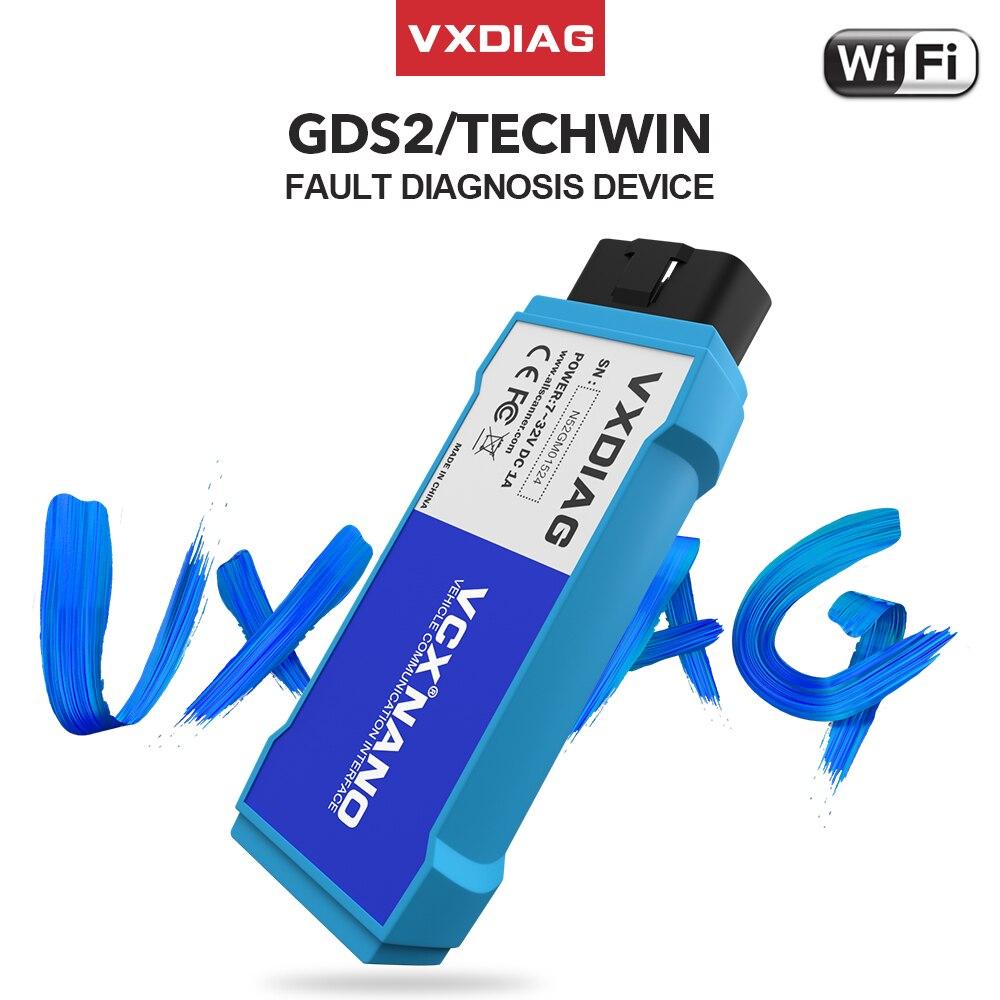 VXDIAG NANO Pro For GM Obd2 Diagnostic Tools Same MDI WIFI Scanner GDS2 Tech2win Software ECU Programmer Car Diagnostic