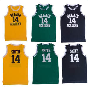 5c513526a9c8 Carlton Will Smith Basketball Jersey Fresh Prince of Bel Air Academy 25