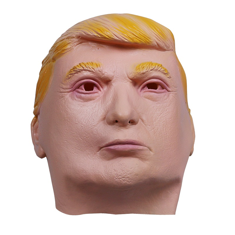 1PC Donald Trump Mask Billionaire Presidential Costume Latex Cospaly Mask For Halloween Party Decorations Ornament (5)