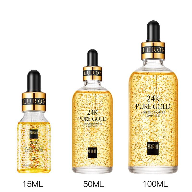 High Quality 24K Gold Anti Wrinkle Essence Liquid Moisturizing Anti Aging Skin Care