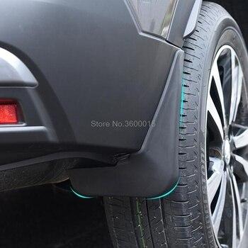 Untuk Nissan Kicks 2017 2018 Automobile Mud Flaps Menjaga Mudguard Fender Basuhan Flaps Mobil Gaya Mobil Aksesori 4 Pcs