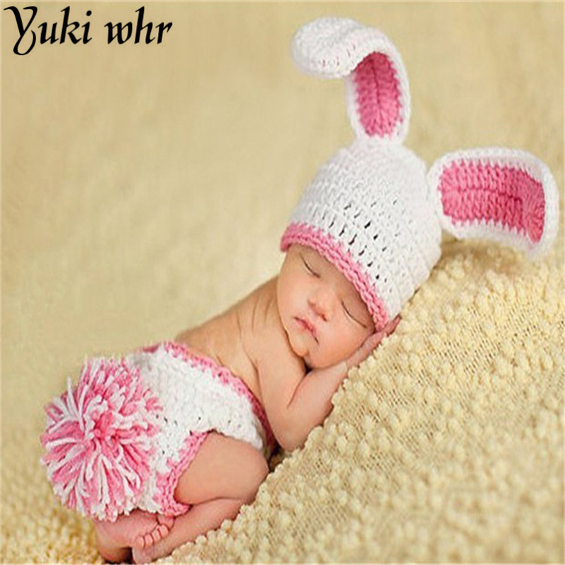 Hot Sale Character Hand-woven Photography Baby Clothing Newborn Baby Photos Crochet Hat Kids Photo Props Free Shipping