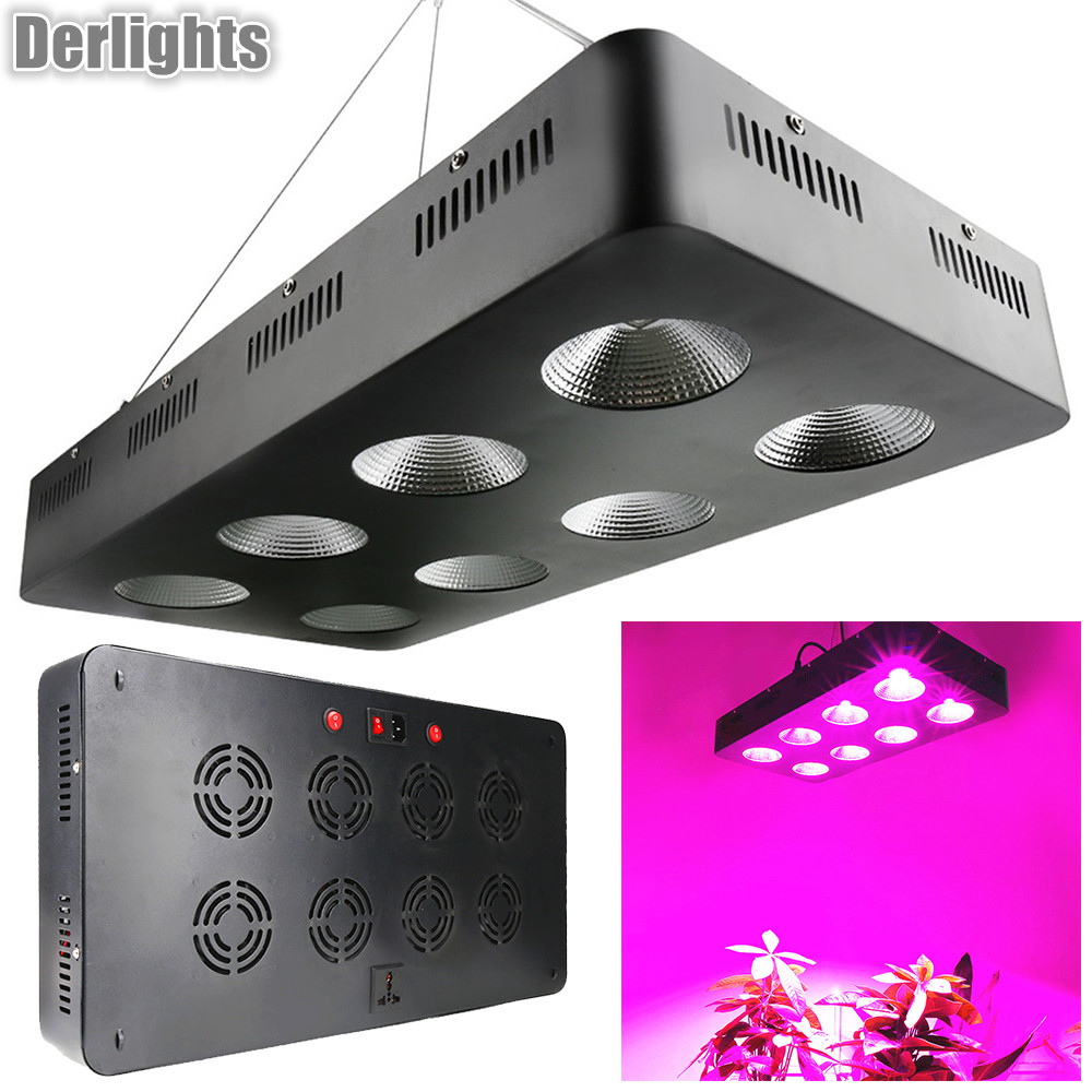 COB 2000W LED Grow Lights Full Spectrum For Indoor Plants
