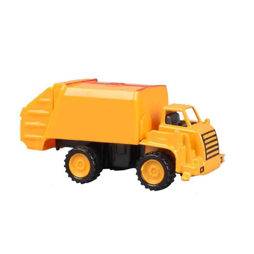 8 estilos Mini Trator Do Brinquedo Do Carro de Engenharia Caminhão Modelo de Carro Liga Clássico Brinquedo Crianças Brinquedos Veículo de Engenharia
