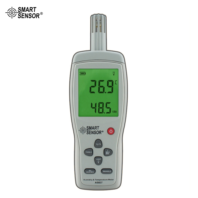 AS837 Humidity Temperature Meter Digital Hygrometer Humidity Gauge weather station digital lcd temperature humidity meter
