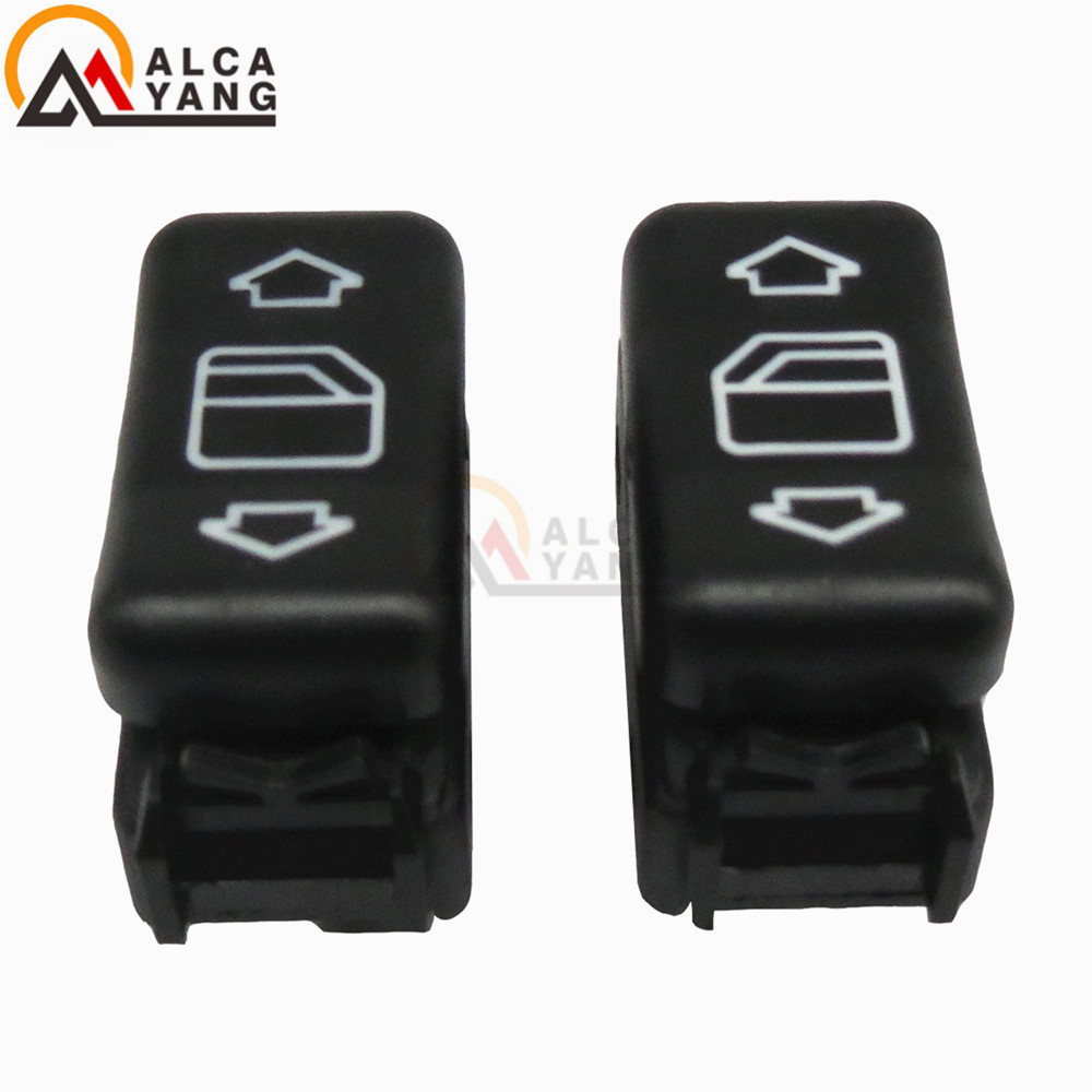 New Left & Right Electric Master Control Power Window Switch For <font><b>Mercedes</b></font> Benz W124 W126 W201 1248204510 1248204610 image
