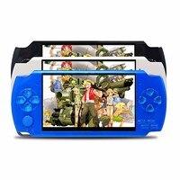 4.3 pulgadas pantalla 32 poco Reproductores de juegos portátiles 8g memoria juego de consola portátil de mano incorporado 10000 Juegos Retro